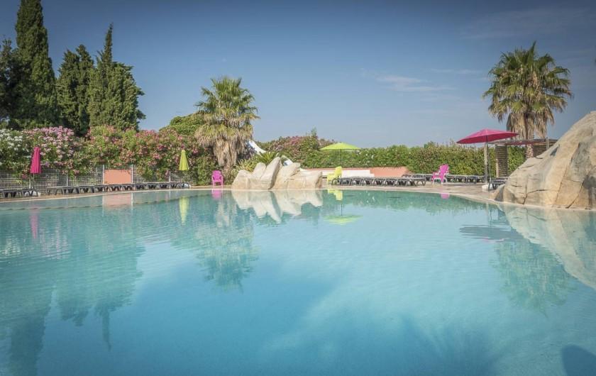 Location de vacances - Camping à Argelès-sur-Mer - Parc aquatique