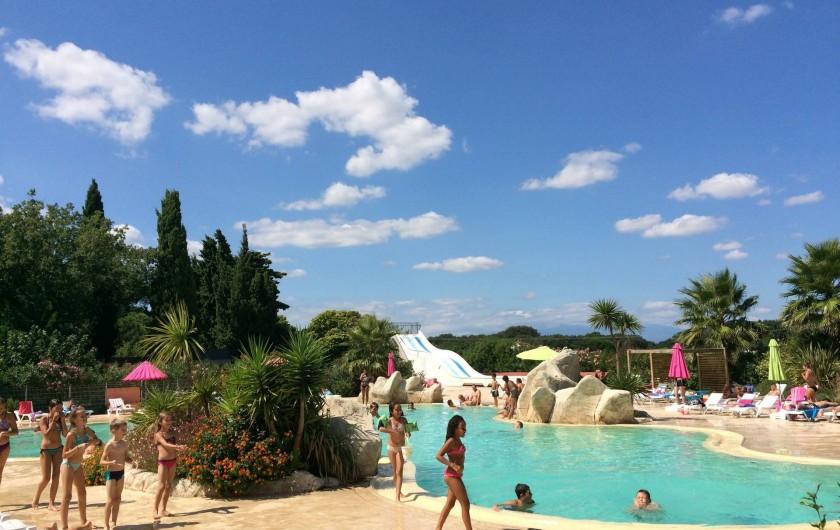 Location de vacances - Camping à Argelès-sur-Mer - Piscines