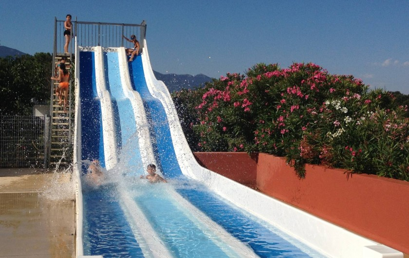 Location de vacances - Camping à Argelès-sur-Mer - Toboggan