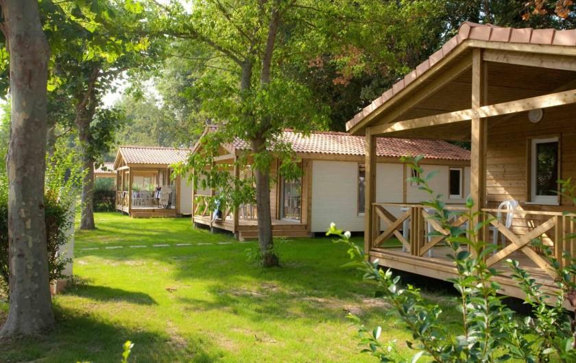 Location de vacances - Camping à Argelès-sur-Mer - Chalet Prestige 4