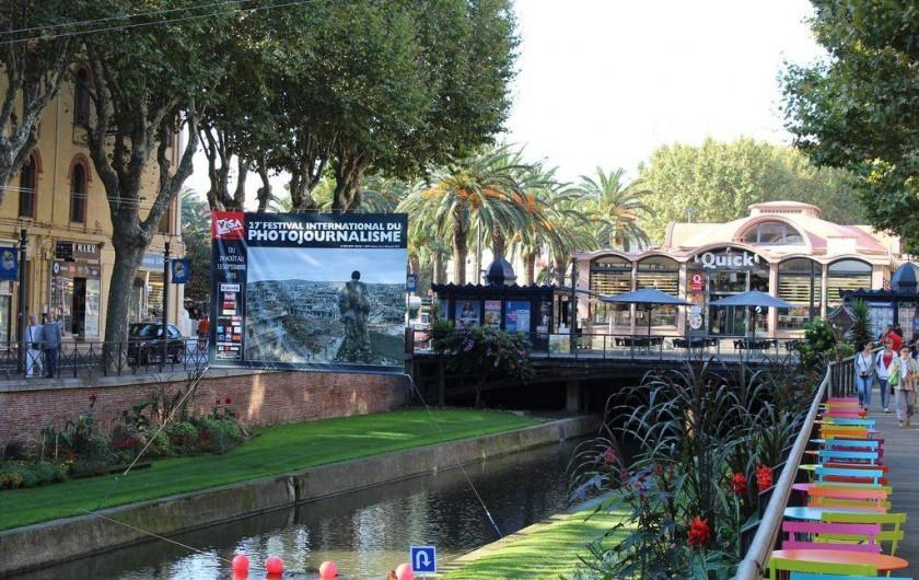 Location de vacances - Appartement à Canet-en-Roussillon - centre de PERPIGNAN ville de 115000 habitants a 10 kilometres de CANET