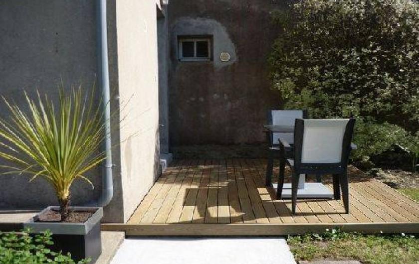 Location de vacances - Studio à Saint-Coulomb