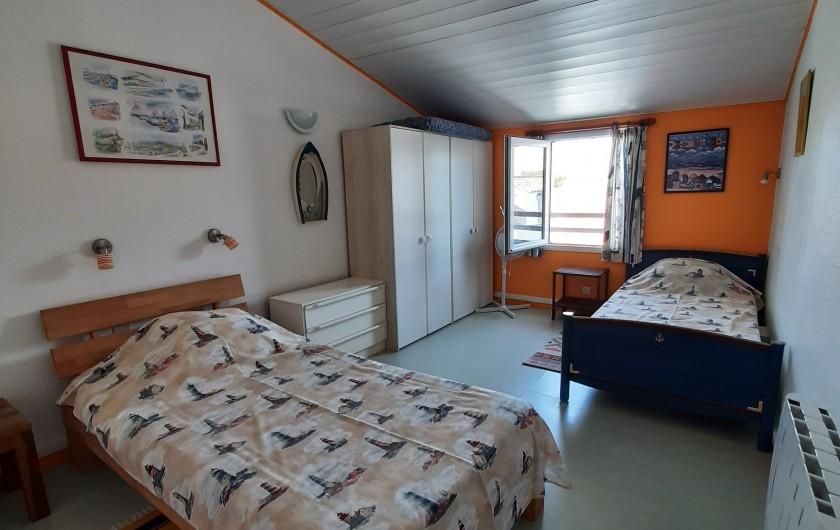 Location de vacances - Villa à Rivedoux-Plage - Le second lit.