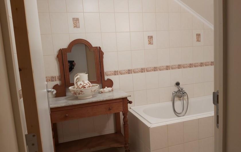 """Location de vacances - Gîte à Haut-Fays - Gîte """"Les Rainettes""""  salon"""