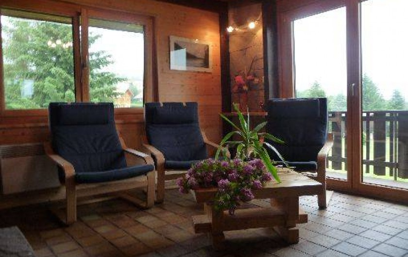 Location de vacances - Chalet à Xonrupt-Longemer - Coin salon