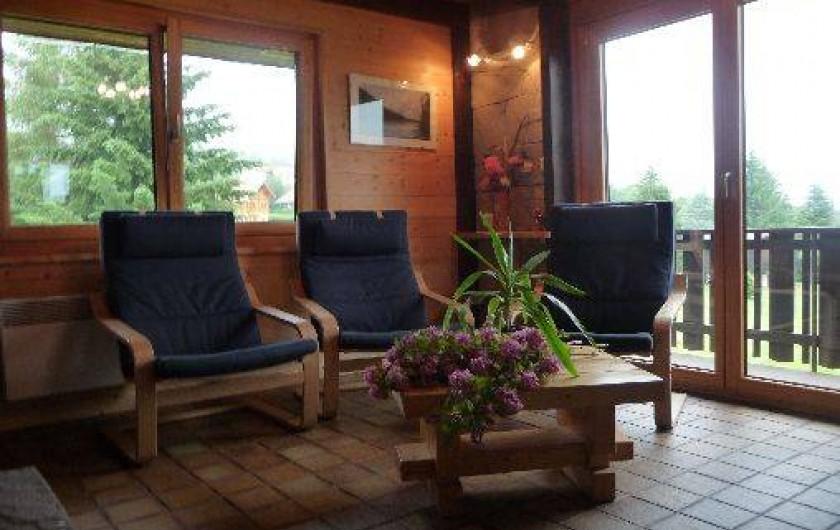 Location de vacances - Chalet à Xonrupt-Longemer - Coin salon