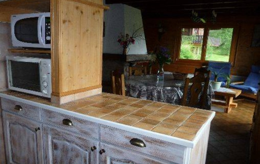 Location de vacances - Chalet à Xonrupt-Longemer - Coin cuisine