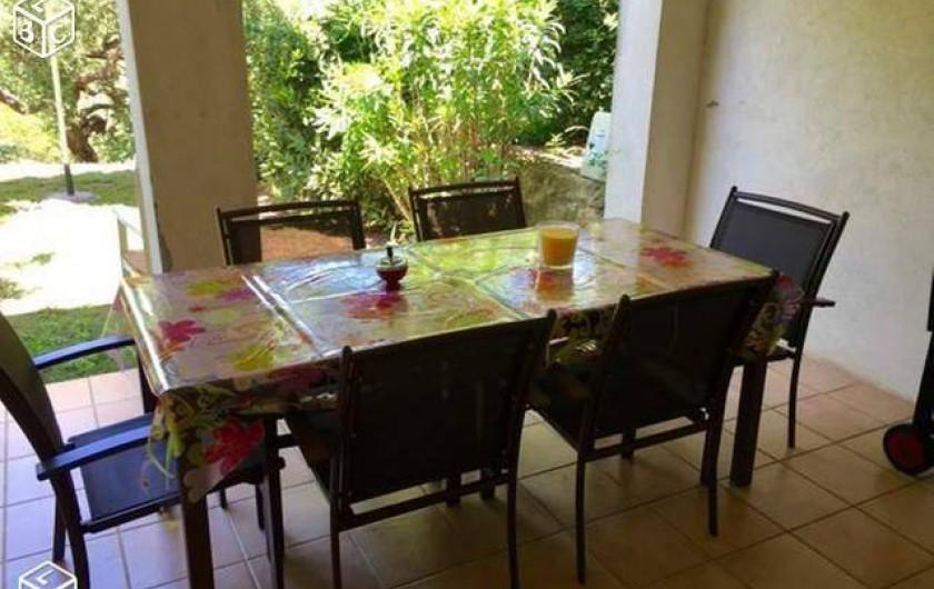 Location de vacances - Villa à Grimaud - SEJOUR EXTERIEU