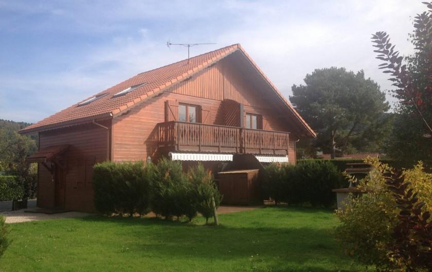 Location de vacances - Chalet à Anould - CHALET