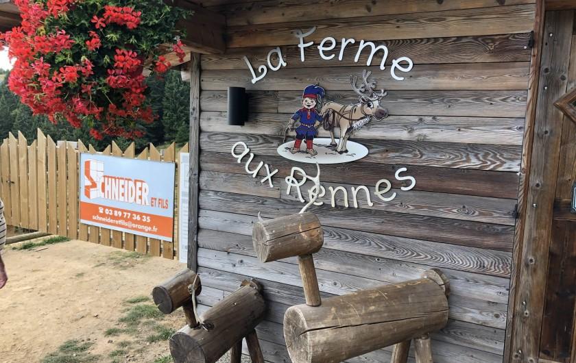 Location de vacances - Chalet à Anould - Ferme aux rennes
