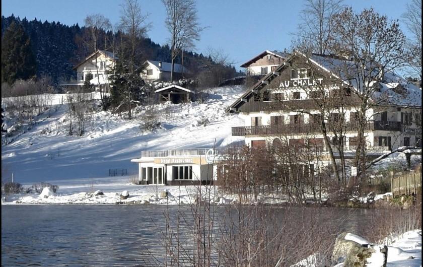 Location de vacances - Chalet à Anould - Lac Gerardmer