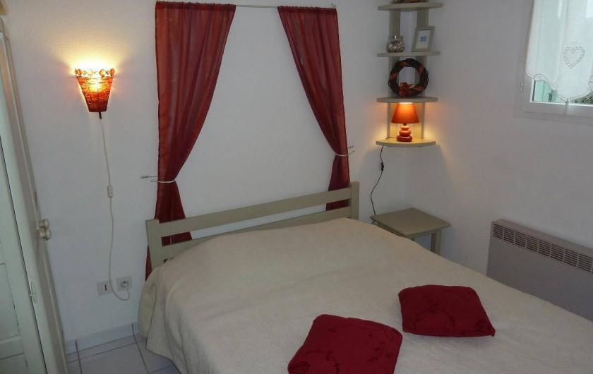 Location de vacances - Maison - Villa à Le Barcarès - Chambre rez