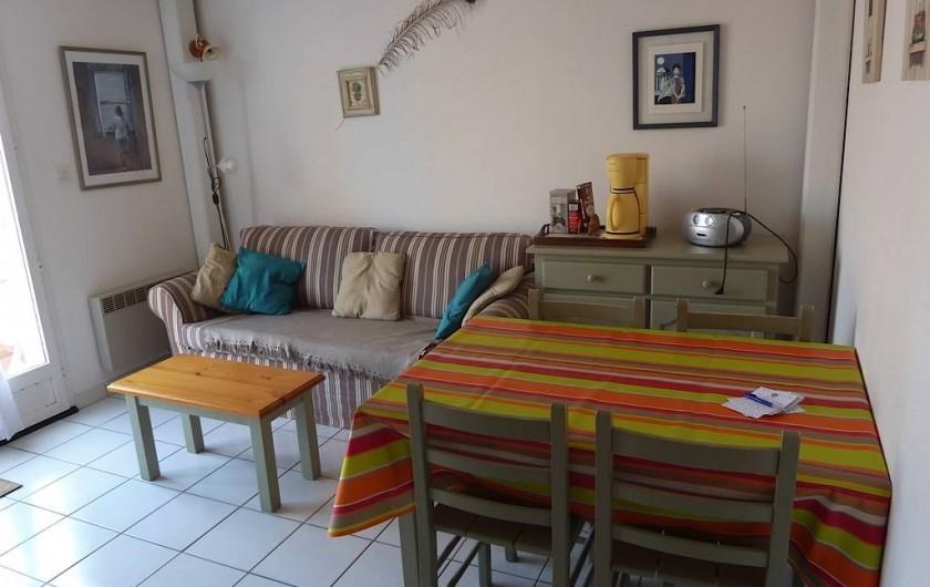 Location de vacances - Maison - Villa à Le Barcarès - Séjour