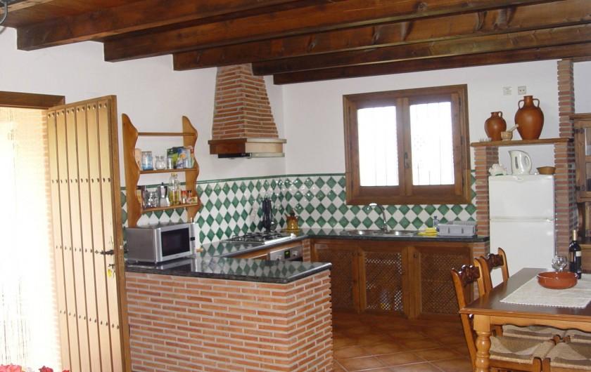 Location de vacances - Maison - Villa à Órgiva - Cocina