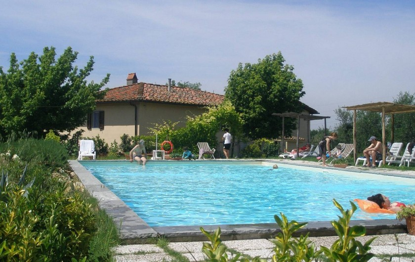 Location de vacances - Appartement à San Jacopo Al Girone - La piscine