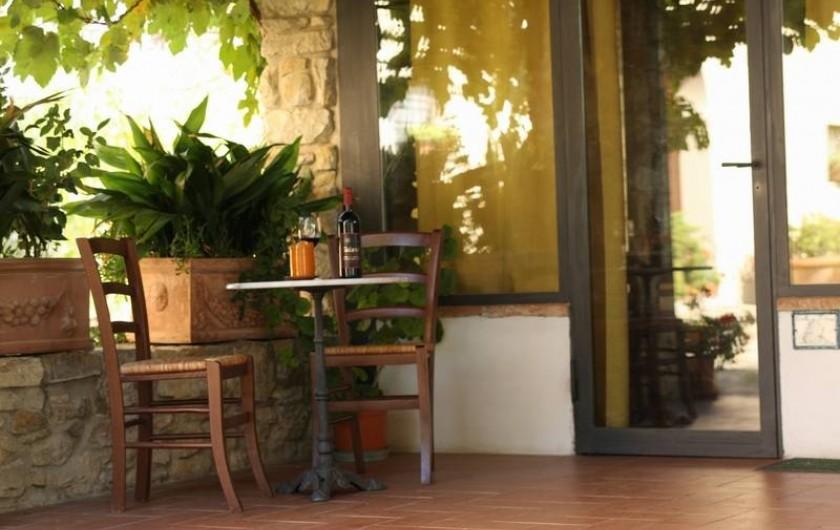"Location de vacances - Appartement à San Jacopo Al Girone - Veranda de la location ""Fienile all' Ombra"""