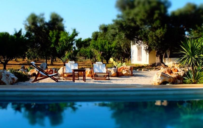 Location de vacances - Villa à San Vito dei Normanni - Piscine privée 10 x 6 m