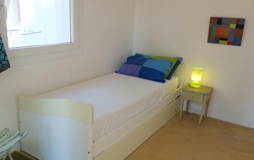 Location de vacances - Villa à San Vito dei Normanni - Chambre simple lamia + 2ème lit tiroir