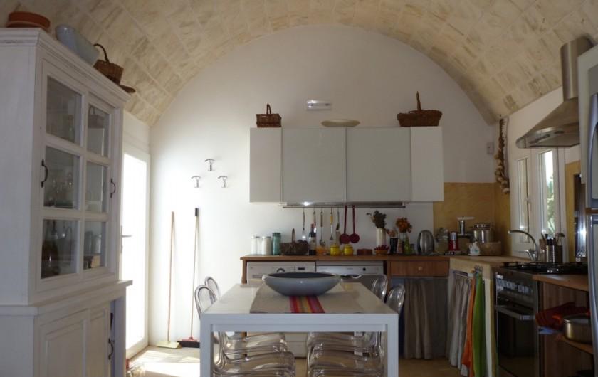 Location de vacances - Villa à San Vito dei Normanni - Cuisine