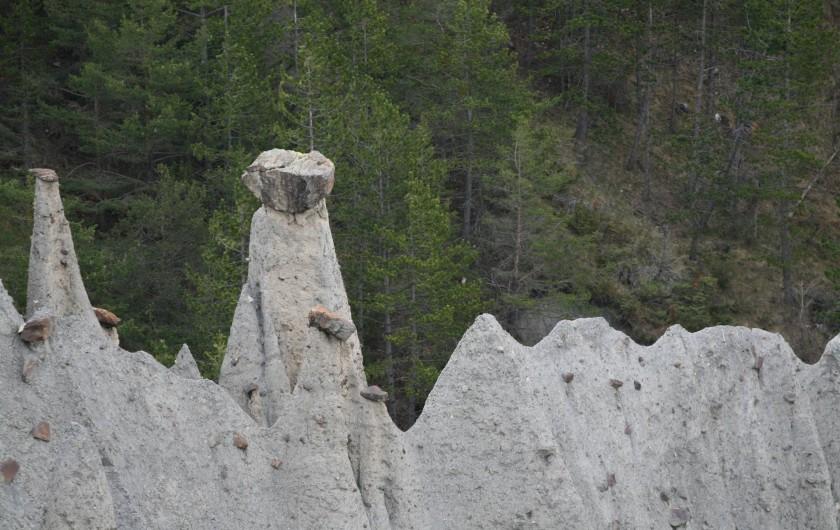 Location de vacances - Chalet à Veynes - curiosités géologiques