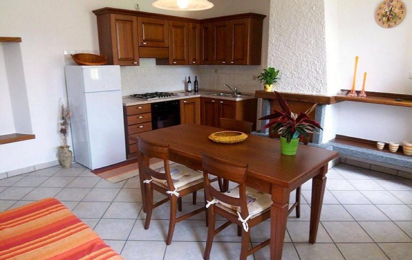 Location de vacances - Maison - Villa à Cremia - Cuisine et salle à manger