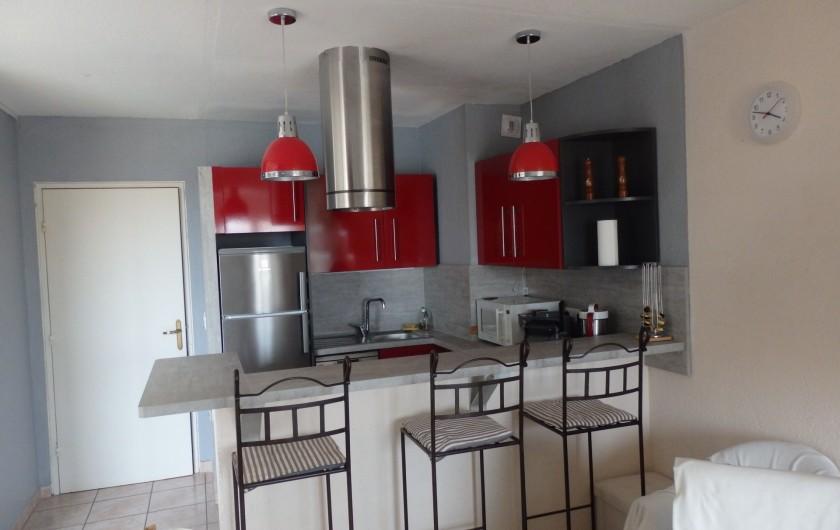 Location de vacances - Appartement à Gruissan - Cuisine