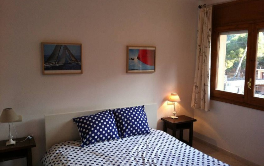 Location de vacances - Villa à Tamariu - Chambre rez