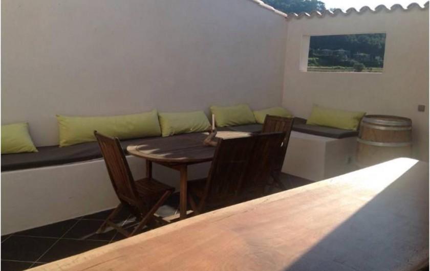 Location de vacances - Maison - Villa à Gruissan - patio