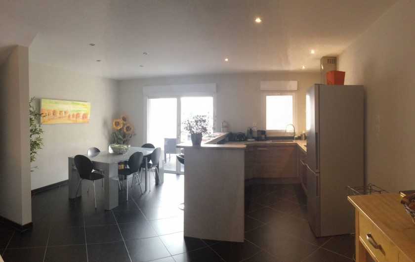 Location de vacances - Maison - Villa à Gruissan - Cuisine et salle à manger
