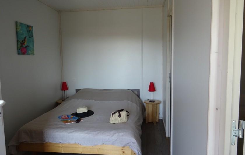Location de vacances - Gîte à Ruoms - chambre double Merlot