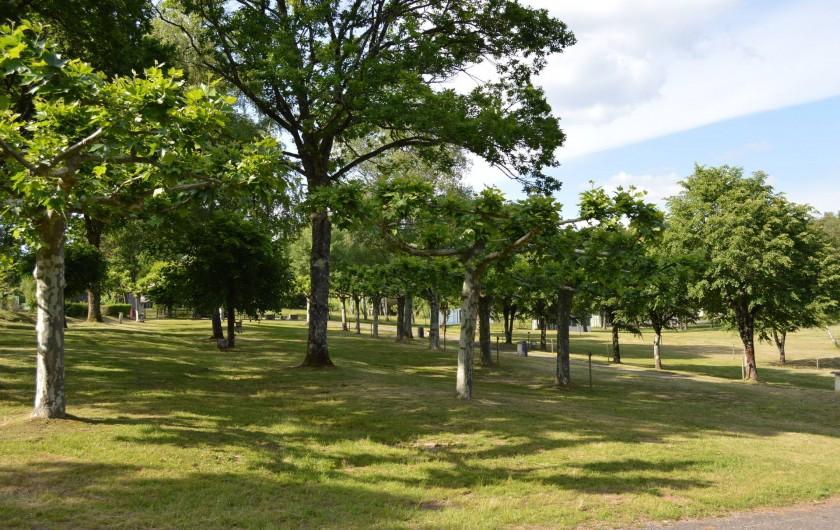 Location de vacances - Chalet à Servières-le-Château - Emplacement
