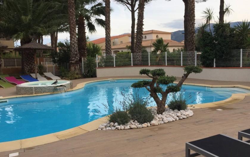 Location de vacances - Appartement à Argelès-sur-Mer - piscine à partager
