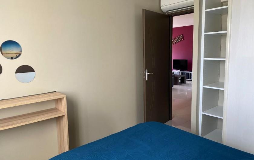 Location de vacances - Appartement à Argelès-sur-Mer - terrasse de l'étage