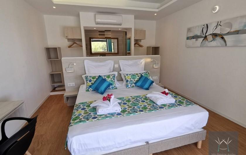Location de vacances - Villa à Sainte-Anne - Suite 1 lit 180 x 200