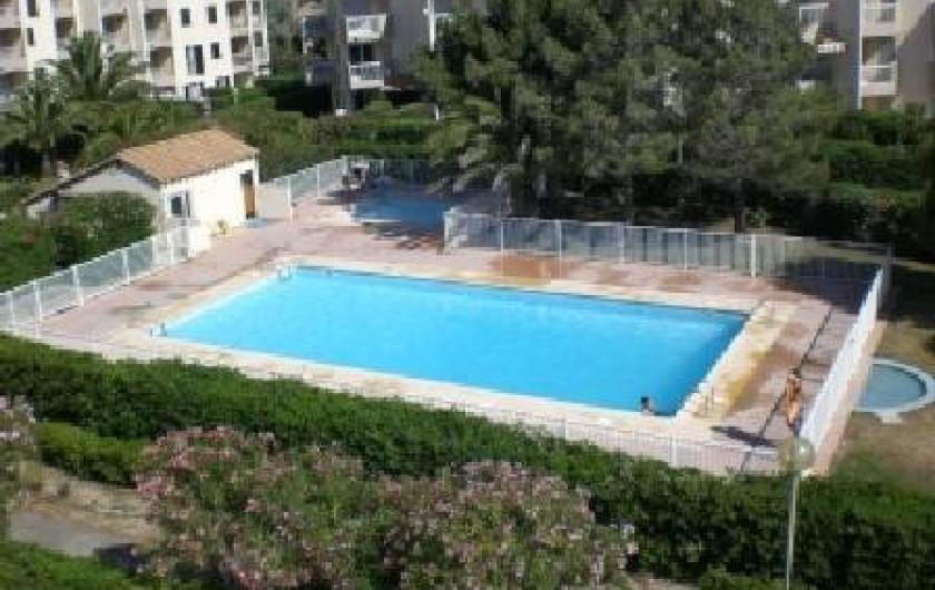 Location de vacances - Appartement à Saint-Cyprien Plage - piscine