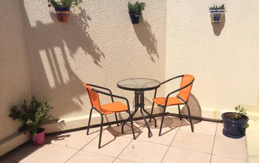 Location de vacances - Appartement à Saint-Cyprien Plage - petit cour