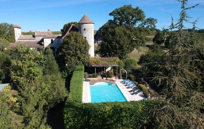Location de vacances - Château - Manoir à Sadillac - Chateau de Sadillac