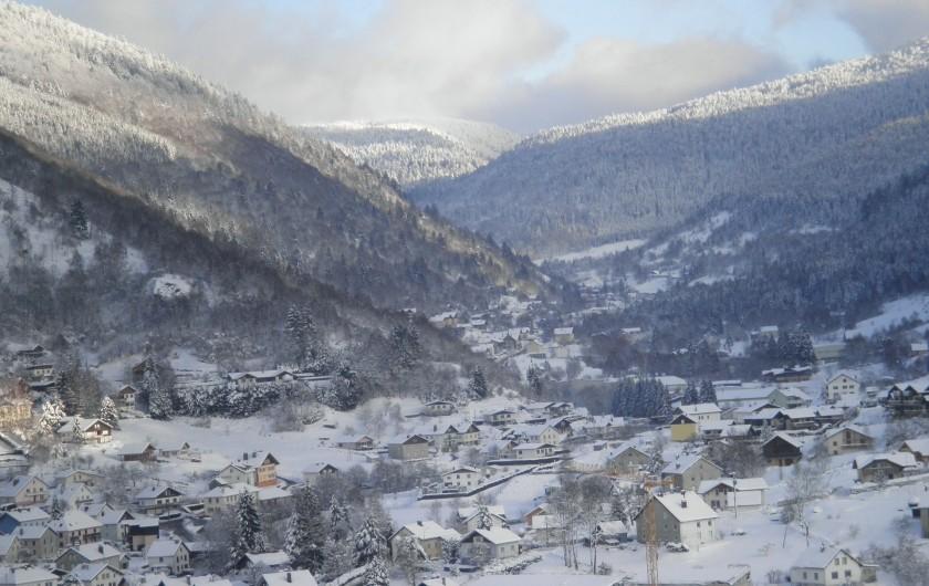 Location de vacances - Chalet à La Bresse - vue du Chalet Vert / La Bresse