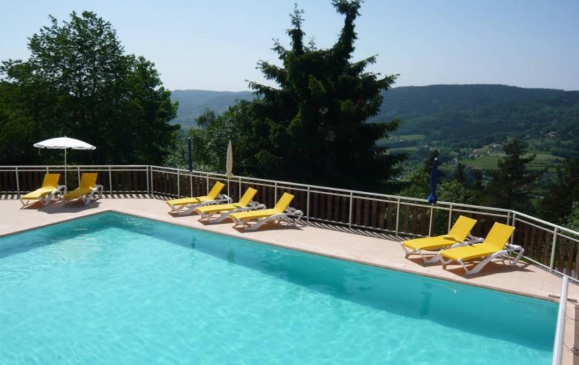 Location de vacances - Chalet à Le Tholy - La piscine