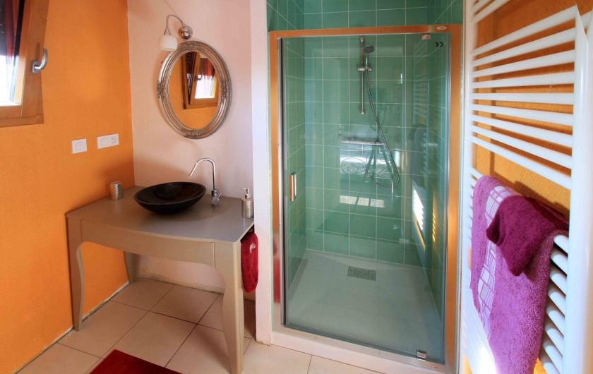 Location de vacances - Chalet à Le Tholy - Salle de bain Genévrier