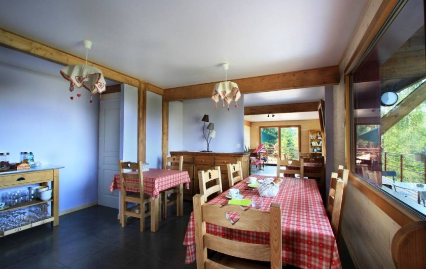 Location de vacances - Chalet à Le Tholy - La salle à manger