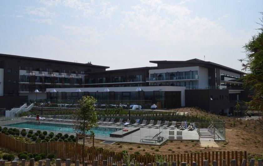 Location de vacances - Appartement à Cabourg - Thalasso à 10 mn a pied de l'appartement