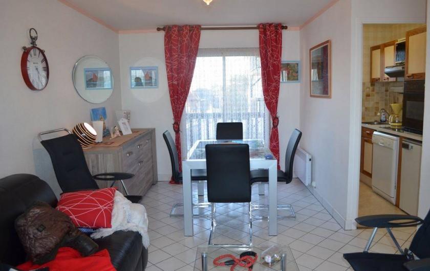 Location de vacances - Appartement à Cabourg - côté séjour