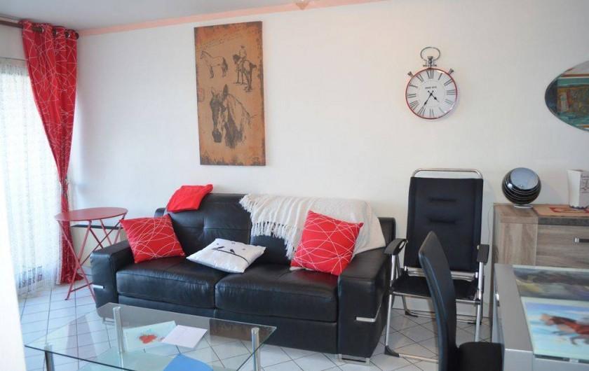 Location de vacances - Appartement à Cabourg - salon