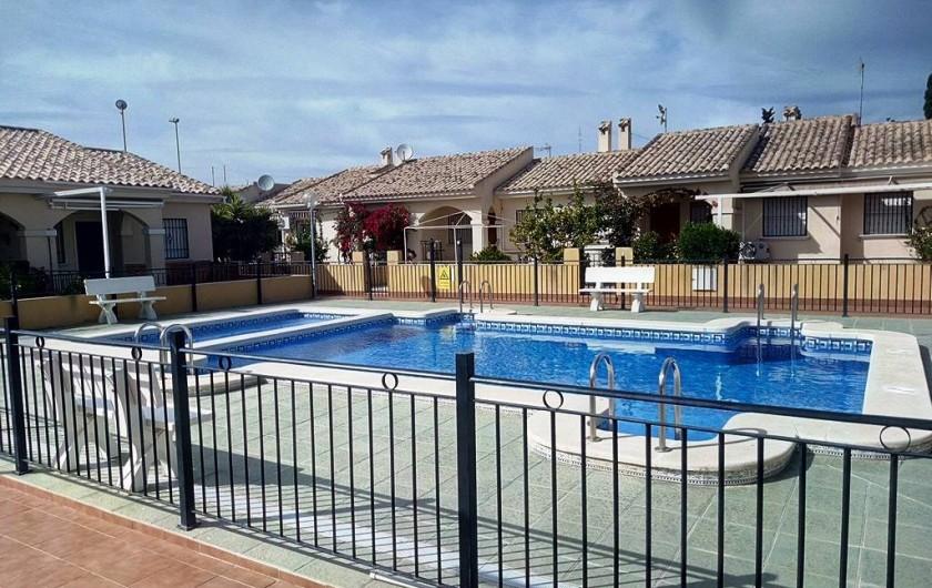 Location de vacances - Chalet à Alicante - Piscine