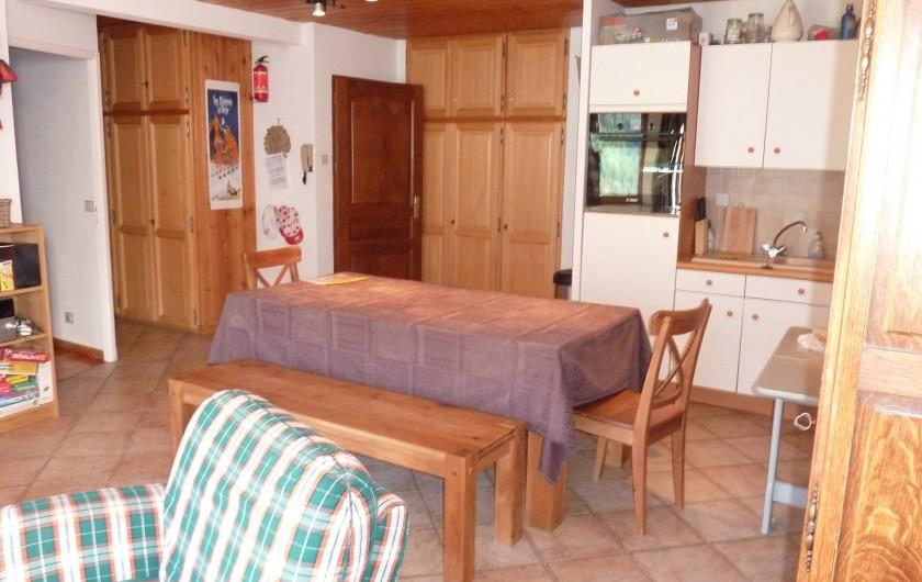 Location de vacances - Appartement à La Grave - Salle à manger
