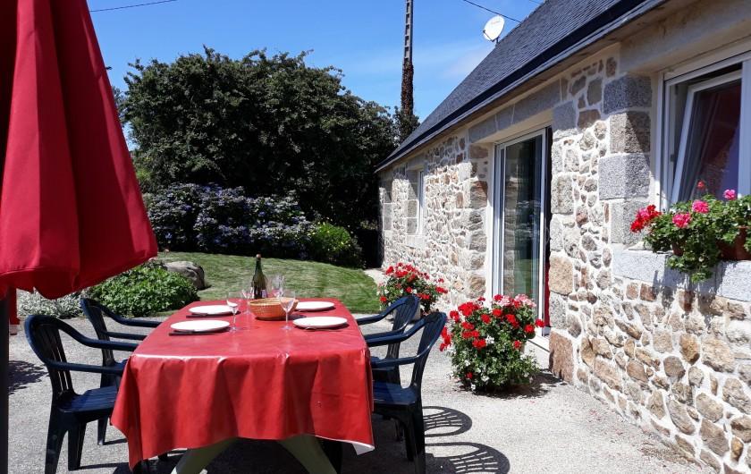 Location de vacances - Gîte à Brélès - Plaisir de manger dehors!