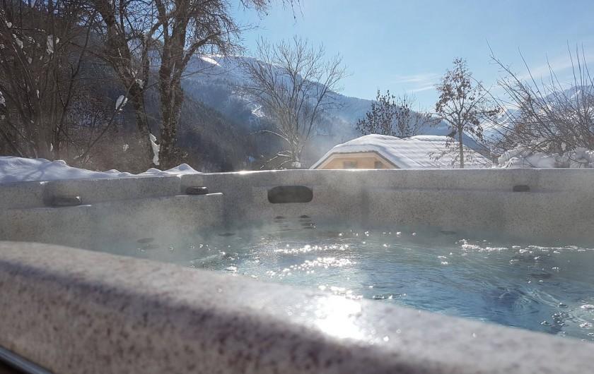 Location de vacances - Chalet à Vaujany - Hot tub