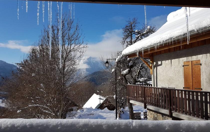 Location de vacances - Chalet à Vaujany - Beautiful view
