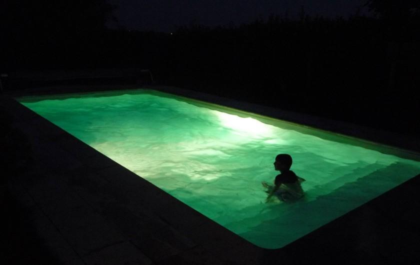 Location de vacances - Chambre d'hôtes à Saint-Martin-Cantalès - Ambiance de baignade nocturne